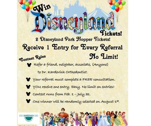 Want to win 2 Disneyland hopper tickets?