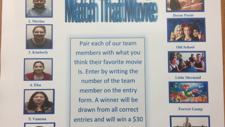 Match That Movie Contest