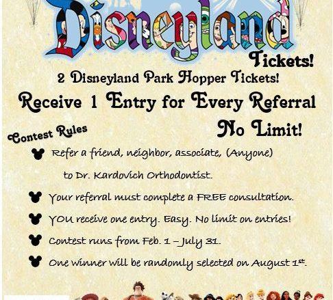 Disneyland Contest