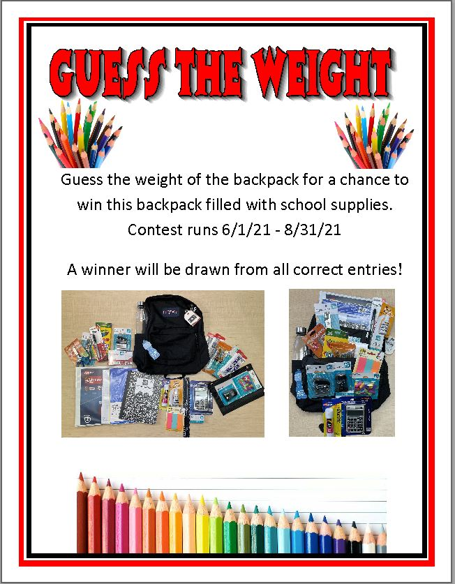 Backpack Contest